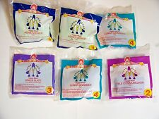 1999 McDonalds Happy Meal Lot/6 SPACE RESCUE Complete Set  #1 - #4 MIP C10!