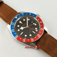 Corgeut 41mm Red blue bezel GMT Automatic with Sapphire Glass Watch 2663