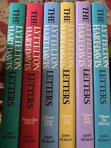 The Lyttelton Hart Davis Letters, Complete Set 6 Vol. H/b 1st Editions