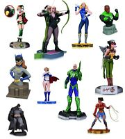 Assorted DC Dynamite Comics Statues Busts Artgerm Batman Superman Harley & MORE