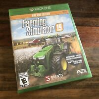 Farming Simulator 19: Day One Edition (Xbox One, 2018) Brand New Factory Sealed