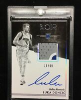 2018-19 Panini Noir Luka Doncic RPA Patch Auto RC 19/99 Mavs HOT BGS 9.5? Rookie