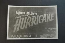 Vintage Photo The Hurricane Movie Sign Times Square New York City 911047