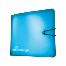 Archivador nylon Mediarange 12 CD/DVD