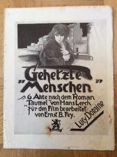 Gehetze Menschen (BFK 35, 1924) - Lucy Doraine