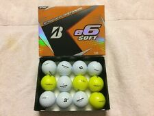 60 Bridgestone e6 Soft Mint/Aaaa golf balls