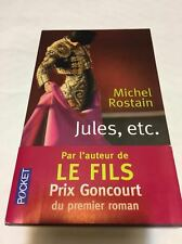 Michel  ROSTAIN  (PRIX GONCOURT 1er ROMAN) * JULES,etc. * Du 01.09.2016