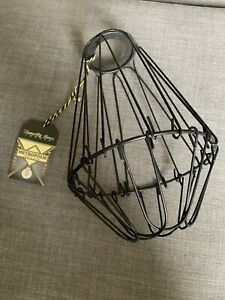 Modern Industrial Wire Cage Style Retro Ceiling Pendant Light Shade Metal Lamp