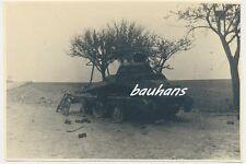 Foto Frankreich Clermont Panzerspähwagen Sd.Kfz 8 Rad abgeschossen 2.WK (a860)