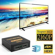 2 Way HDMI Splitter 1 input 2 Output Multi Switcher Hub Box 3D HDTV PS3 XBOX