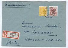 All.Bes./Gemeinsch.Ausg.Mi. 956,952, Hbg.-Harburg 2, 17.2.48, AKS St. Ingbert