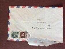 b1u ephemera stamped franked envelope india calcutta 1r 3r