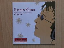ROBIN GIBB CD: MY FAVOURITE CHRISTMAS CAROLS (EDEL 0177622ERE)