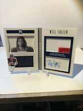 2016 Panini Playbook Will Fuller Auto Book /99 RC Texans 💥 Patch