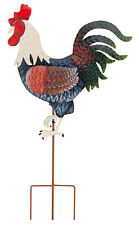 Rooster Metal Garden Stake by Maple Lane Creations