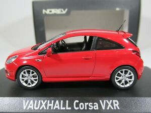 NOREV, 1:43 scale, VAUXHALL CORSA VXR in RED, #380006