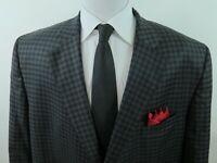 Jack Victor Classic Wool Checks Blazer Jacket Sport Coat 50 PR Big Man NWT NEW