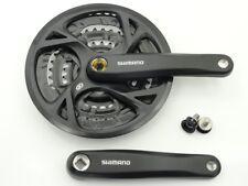 Kurbelgarnitur Shimano FC-M 371  3 fach 48/36/26 KS schwarz 170mm für 27 Gang