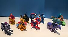 2006 McDonalds - Dragon Booster Happy Meal Toys- set of 8- New in Package-
