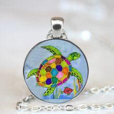 Sea Turtle necklace, sea turtles pendant, sea turtle jewelry sea turtle jewelry