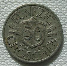 50 Groschen Austria 1947 Coin