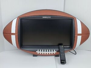 """Hannspree Leather Football Shaped 24"""" Television TV LED LCD HDTV W/Remote"""