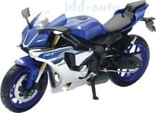 NEW RAY 2016 YAMAHA YZF-R1 BLUE 1/12 DIECAST MOTORCYCLE MODEL 57803 A
