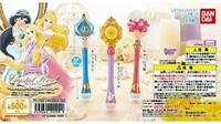 BANDAI Disney Princess rod Gashapon 3set mascot capsule Figures Complete set