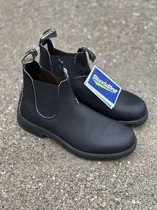 Blundstone BL 510 Boots Voltan Black Leather Men's US 9 / AU 8 Work