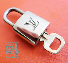 ORIG. Louis Vuitton castillo lock padlock No. 340 para Speedy, alma, keepall, equipaje