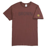 NEW UPS UNITED PARCEL SERVICE MENS COLLECTIBLE BROWN GRAPHIC CASUAL TEE T-SHIRT
