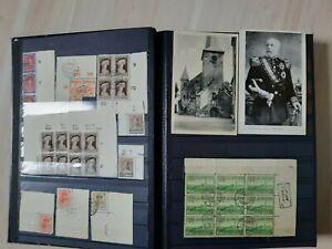 Luxemburg - urige Sammlung mit guten, alten, gestempelten Ausgaben!  Lagerbuch!