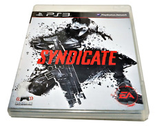 Syndicate Sony PS3 PlayStation 3