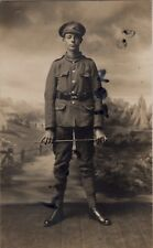 WW1 soldier East Kent Regiment The Buffs Ashford photographer