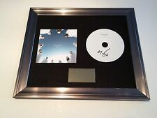 PERSONALLY SIGNED/AUTOGRAPHED MOBY - INNOCENTS FRAMED CD PRESENTATION. RARE