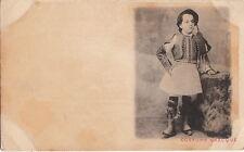Postcard Greek Traditional Dress Costume