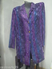 BONITA blusa BLUSON mujer Talla 44 manga LARGA NUEVA blouse woman
