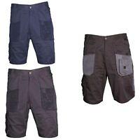 Blackrock Shorts Workman Mens Work Wear Cargo Combat Trousers Black Grey Navy UK