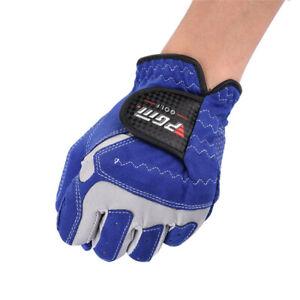 Golf Gloves Mens Left/ Right Hand Soft Breathable Sheepskin Anti-slip Granules