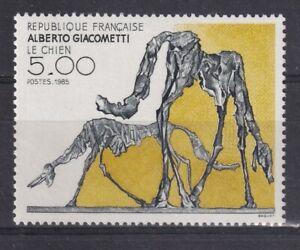 France année 1985 Le Chien d'Alberto Giacometti N° 2383** réf 7515