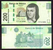 MEXICO 200 Pesos 2009 Serie U   - UNC  - Pick 125d Serie U