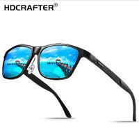 HDCRAFTER Men Aluminum Polarized Sunglasses Outdoor Fishing Driving Glasses New