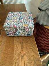 John Lewis Sewing Box with Pin Cushion