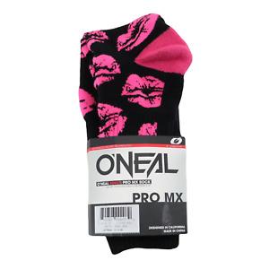 O'Neal Pro Womens XOXO MX Socks - Motocross Dirtbike Offroad ATV Womens
