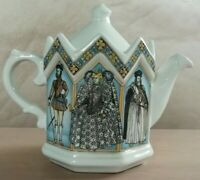 Vintage Queen of  England Elizabeth 1st Collectors Teapot by Sadler