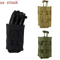 Tactical Molle Pouch Rifle Magazine Holster Holder Radio Pouch Utility Waist Bag