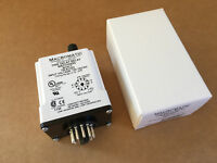 Macromatic TR-61322 Time Delay Relay 120VAC/DC Time Range 0.1S-2HR