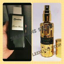 Franck Boclet Cocaine - 14ml (0.47 oz.) spray perfume in gold bottle