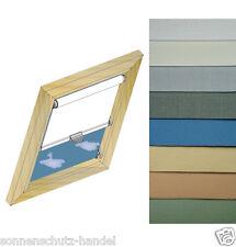 Rollo für Velux® GGL Holz Dachfenster Sonnenschutz Hitzeschutz Thermorollo