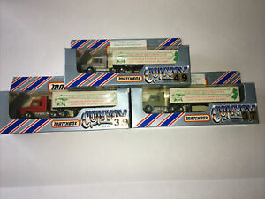 Matchbox convoy lot of 3 CY16 in original boxes 1983